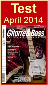 Test in Gitarre&Bass, April 2014